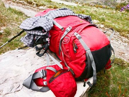 minimalistisch Reisen - mein Rucksack