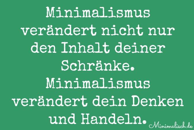 Minimalismus ver ndert dich for Minimalismus lebensstil