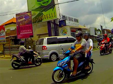 Verkehrschaos_Bali_Asien